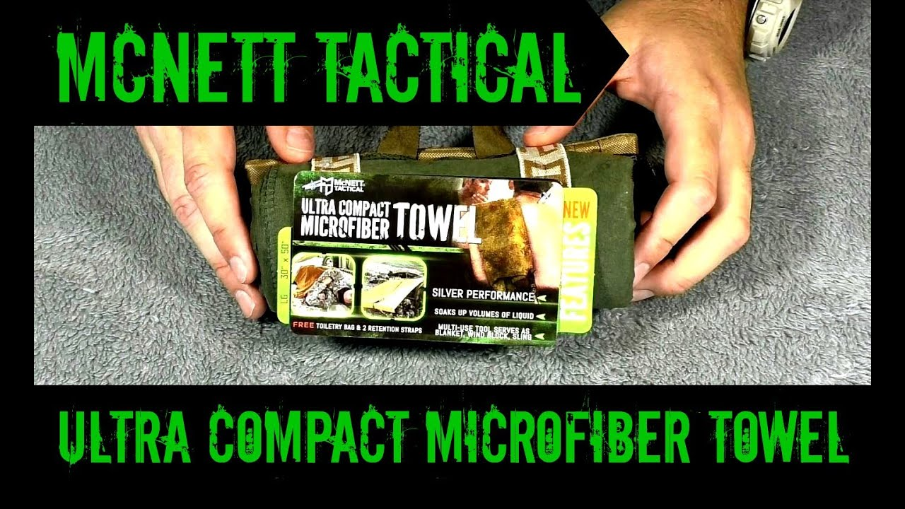 Mcnett Tactical Ultra Compact Microfiber Towel Review