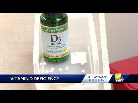 Study shows Vitamin D has many benefits