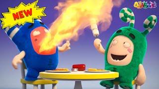 Oddbods   Nouveau   CANULARS ALIMENTAIRES   Dessins Animés Amusants pour les Enfants