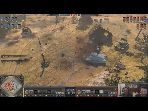 [Coh2] Andres-TC(Soviets) vs Tobis(OKW)