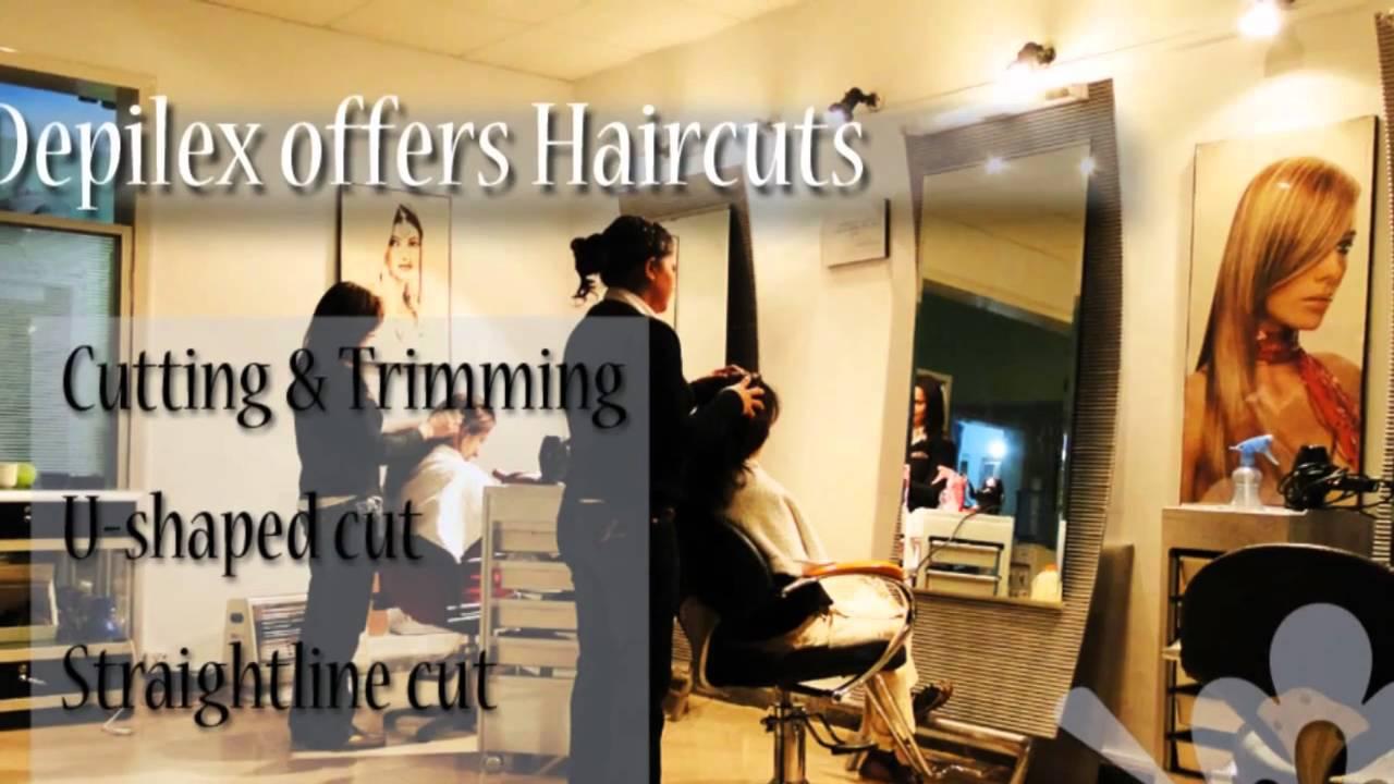Depilex Hair Cuts Services YouTube