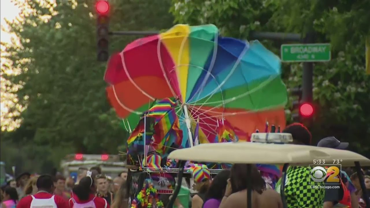 Chicago Pride Parade Ends Early Due To Inclement Weather