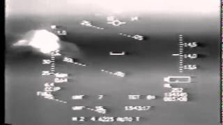 US F-16 dodging 6 Iraqi SAM missiles - pilot breathing heavily