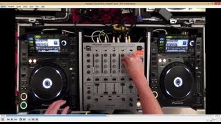 Example Tech-House DJ Set using Pioneer CDJ-2000's & DJM 600 Mixer - Audience Perspective