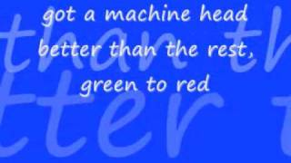 bush - machinehead lyrics