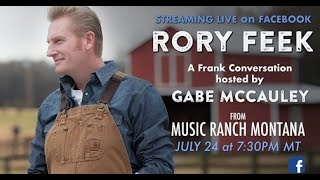 a FRANK CONVERSATION Rory Feek & Gabe McCauley