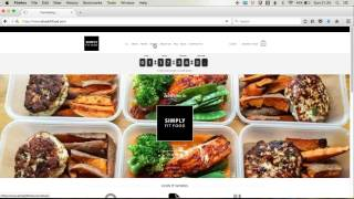How to Order Simply Fit Food Healthy Meal Plan (Meal Plan 1 Option)