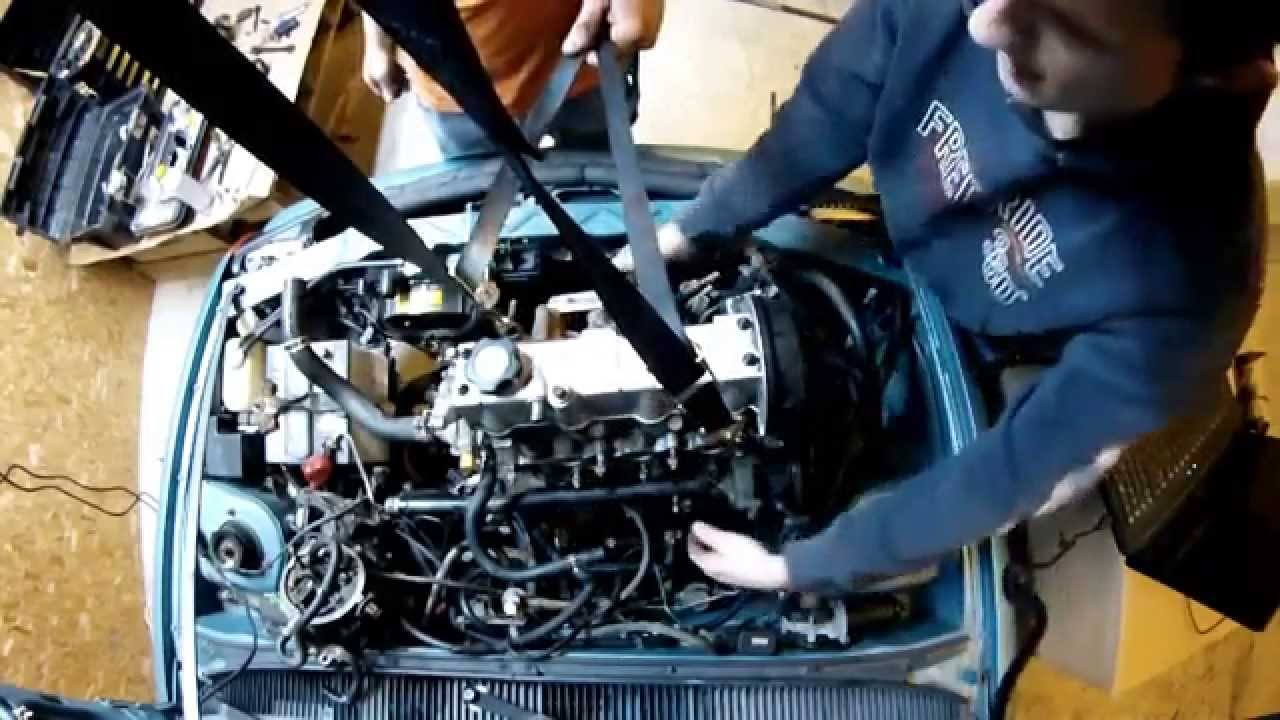 hight resolution of geo metro engine pull time lapse