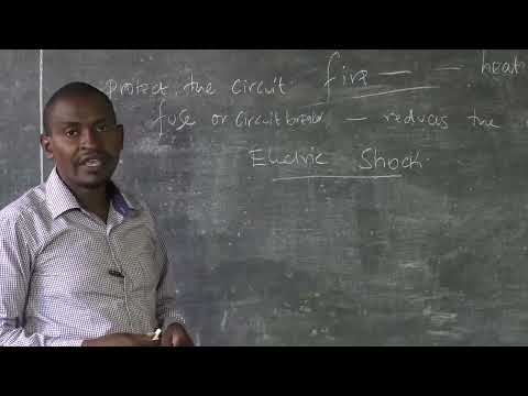 Electrical Lesson4 Fundamentals of Electricity Safety while using Electricity