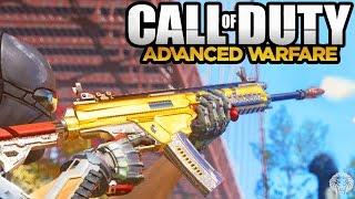 COD Advanced Warfare: ULTRA RARE CAMOS! Gold & Diamond Weapon Camo Information (Call of Duty AW)