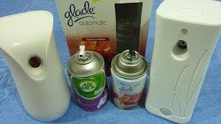 видео Освежители воздуха, дезодоранты