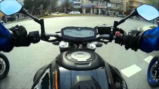 Yamaha MT07 Four bike İzmir Trip Road 1080P HD Speed  Tour
