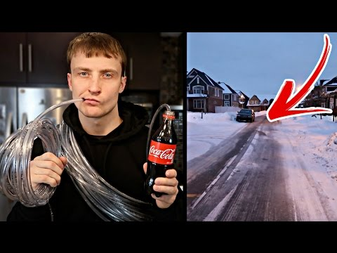 WORLD'S LONGEST STRAW (1000+ FEET) IMPOSSIBLE?