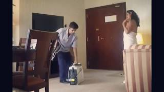 Tante sexy Jail Banget - Nga pake Baju Godain Pegawai Hotel - Pantat nya sexy benerrr
