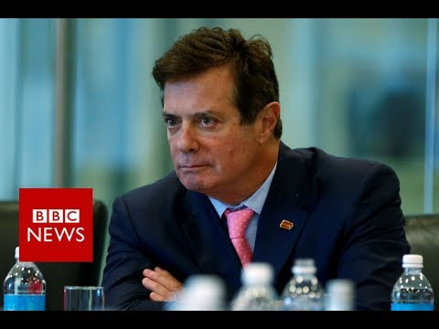Paul Manafort charged with US tax fraud over Ukraine work - BBC News