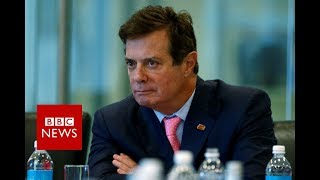 Paul Manafort charged with US tax fraud over Ukraine work - BBC News