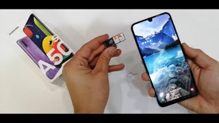 Galaxy A50/A30: Insert SIM & SD Card