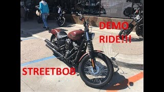 2018 streetbob test ride/review
