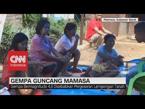 2 Hari Diguncang Gempa, Sejumlah Bangunan Di Mamasa Alami Retakan Mp3