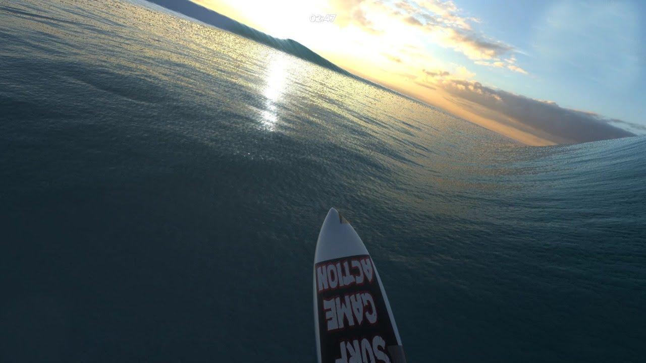 Playing Virtual Surfing