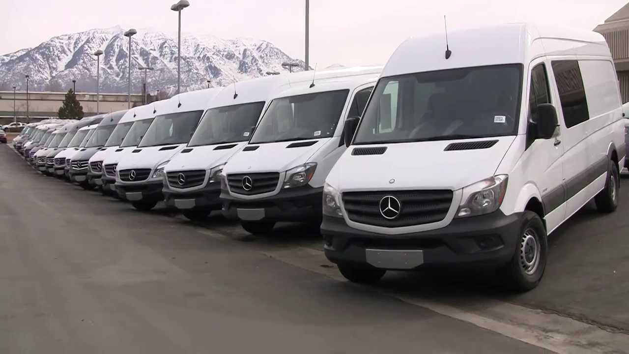 Mercedes benz 2014 sprinter cargo van e5816789 youtube for Mercedes benz sprinter cargo van