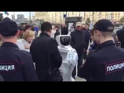 Did Russian police really arrest a robot? (Crave Extra)