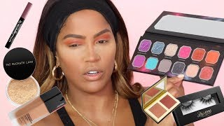 EVERYDAY MAKEUP USING NEW PRODUCTS | MAKEUPSHAYLA