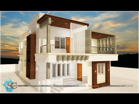 ARCHITECTURE speed built modern house Design