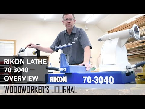 Rikon Lathe 70-3040 Overview