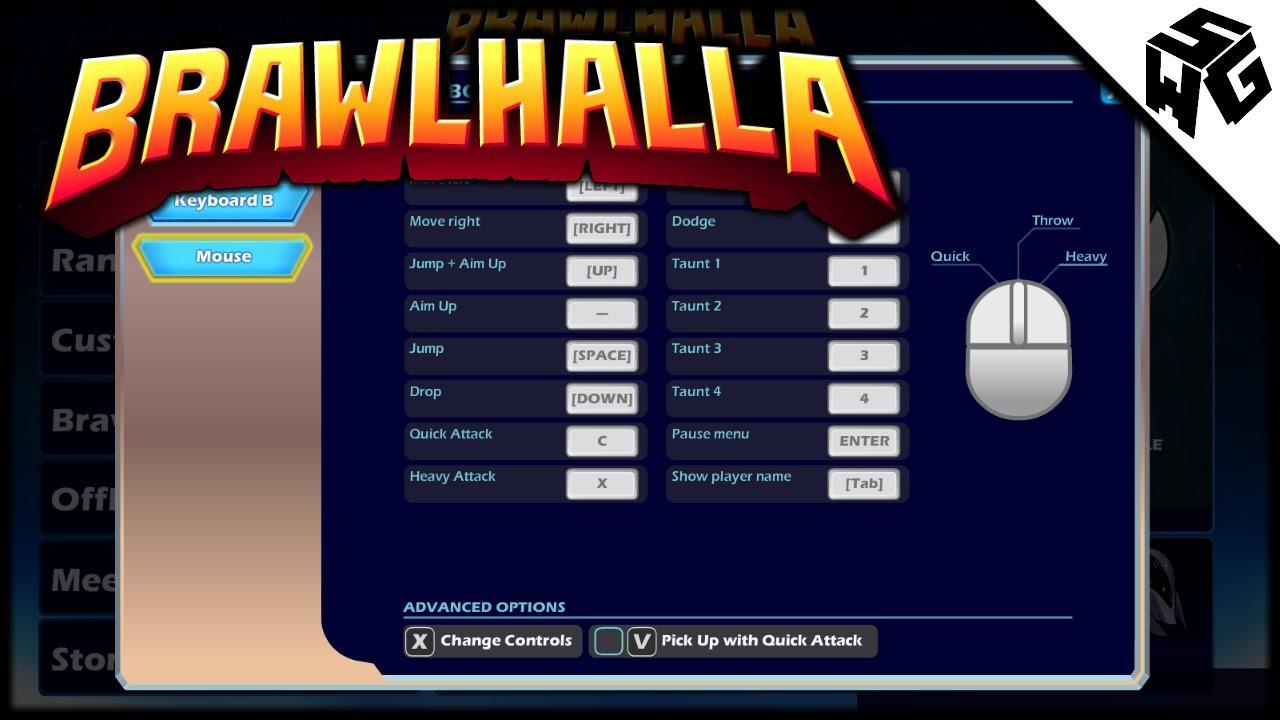 My Brawlhalla Controls