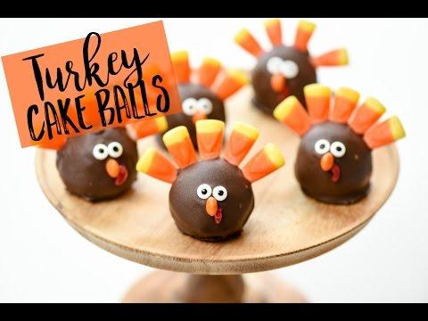Thanksgiving Turkey Oreo Balls