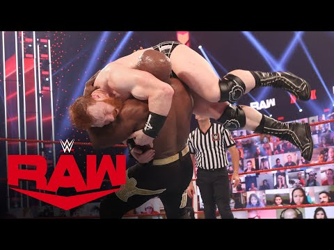 Bobby Lashley vs. Sheamus: Raw, Mar. 15, 2021