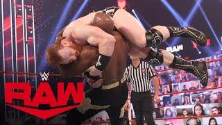 Bobby Lashley vs. Sheamus: Raw, Mar. 15, 2021