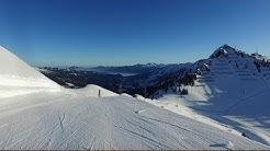 Walmendingerhorn Ski - Talabfahrt vom Walmendinger Horn in's Kleinwalsertal