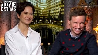 Fantastic Beasts and Where to Find Them - Eddie Redmayne & Katherine Waterston talk about the movie