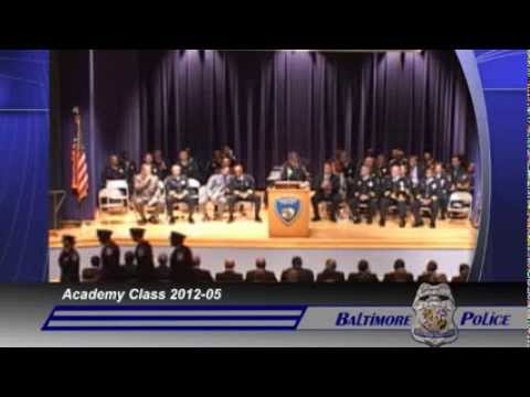 Baltimore Police Department's Academy Graduation Class 12-05
