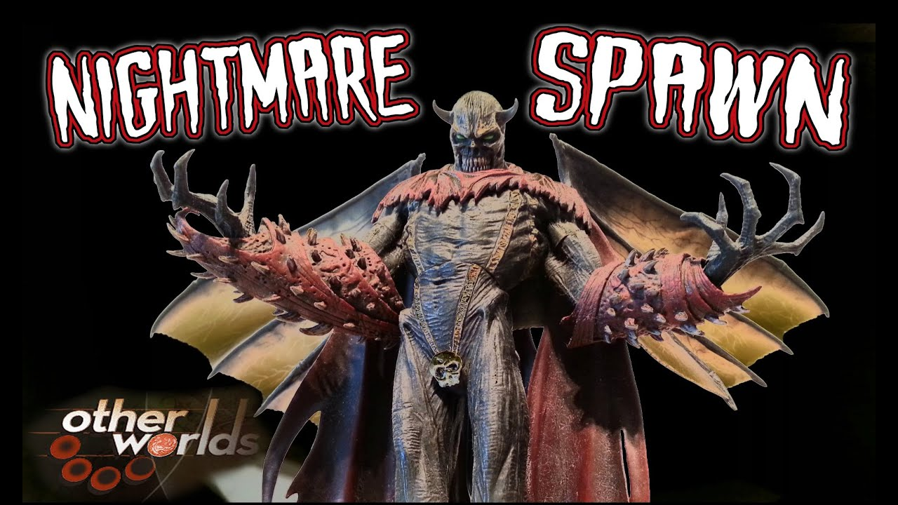 Nightmare Spawn McFarlane Toys Action Figure Review Horror Collection Rare Evil