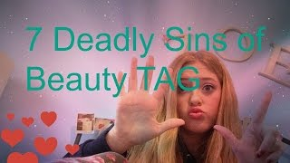 7 Deadly Sins of Beauty TAG| zisabella13 Thumbnail