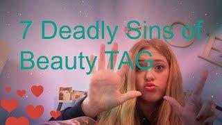 7 Deadly Sins of Beauty TAG| zisabella13 Thumbnail