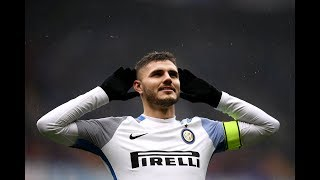 Mauro Icardi scores four for Inter, including a 14-minute hat-trick!
