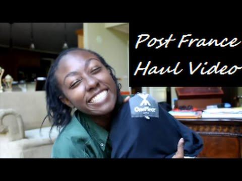 Post France Haul Video