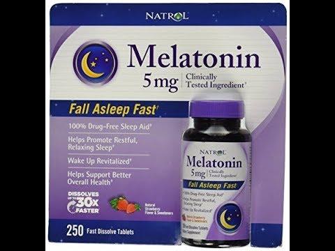 Natrol® Melatonin 5 Mg, 250 Fast Dissolve Tablets Strawberry Flavor