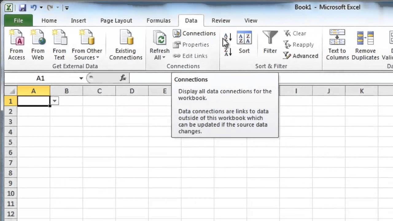 how to put drop down list in excel 2010