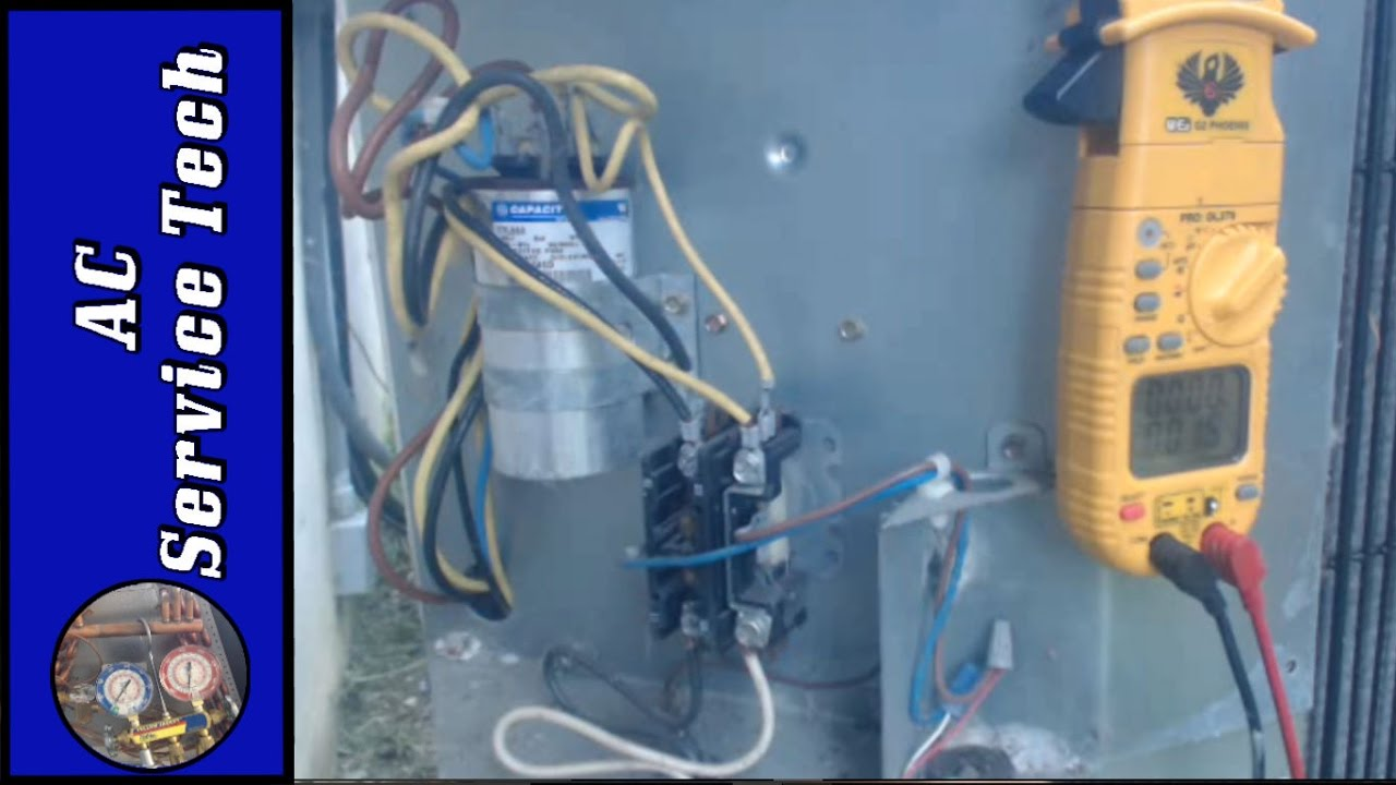 Outside Air Conditioner Not Turning On! Explained!- Voltages, Contactor  Troubleshooting