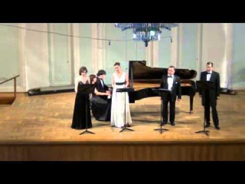 Brahms Neue Liebeslieder Waltzes, Op.65 12 Schwarzer Wald, dein Schatten