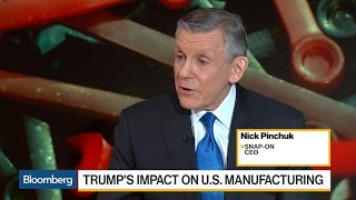 Snap-On CEO Sees Positive Confidence on U.S. Economy