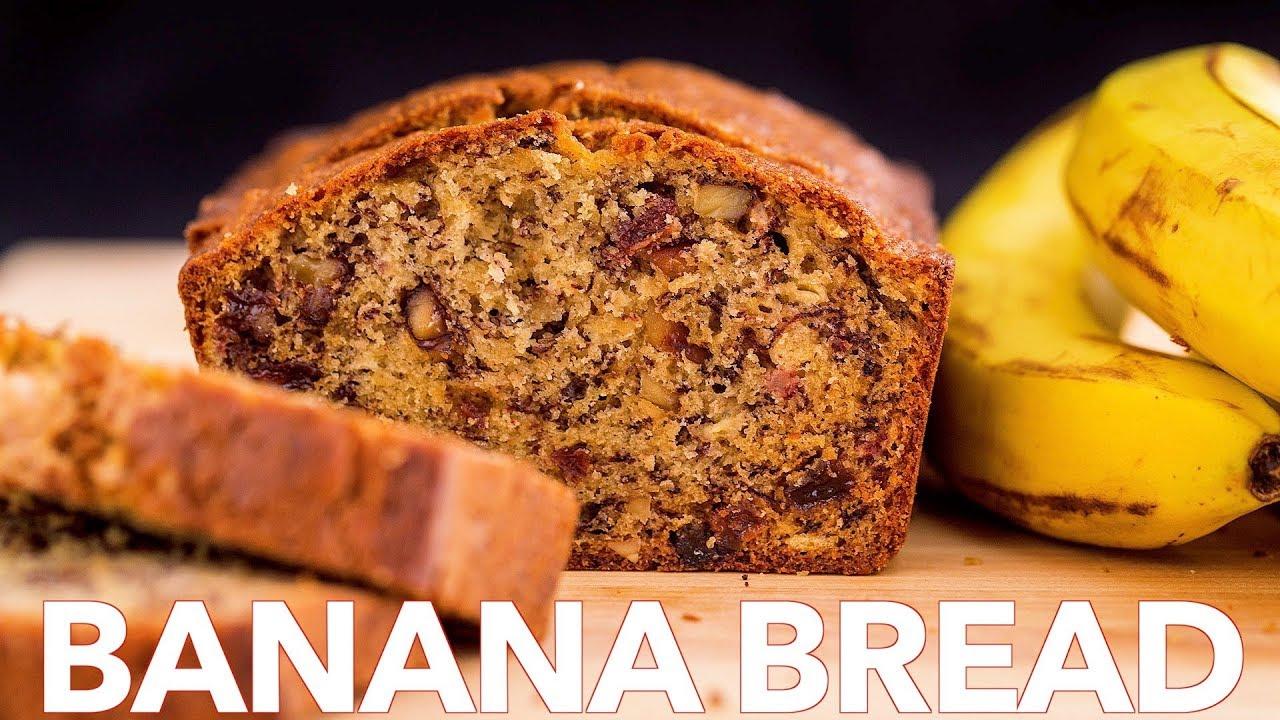 Homemade Banana Nut Bread Recipe