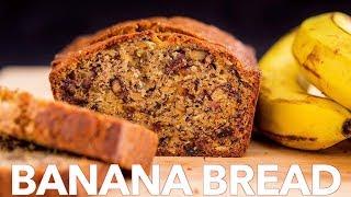 Moist Banana Bread Recipe | Sweet Bread