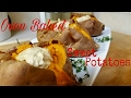 "Baked ""Dolloped"" Sweet Potatoes"