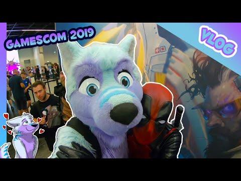🐺 VLOG #22 - Gamescom 2019 In Cologne, Germany